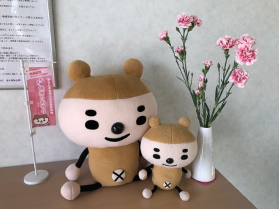 ぽんぽんとお花